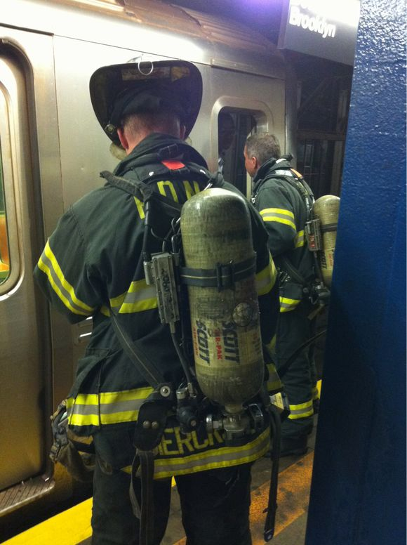 Milestone No. 2 - My first subway fire!
