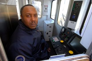 MTA Subway Motorman Credit: Daily News